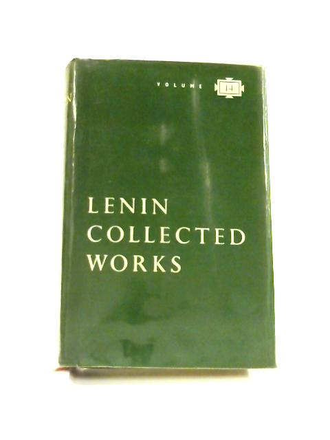 Collected Works Vol. 14 1908 Materialism and Empirio-Criticism by V. I. Lenin