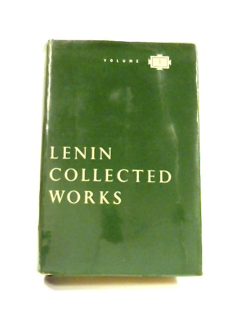 Collected Works: Vol. 3 The Development of Capitalism in Russ by V. I. Lenin