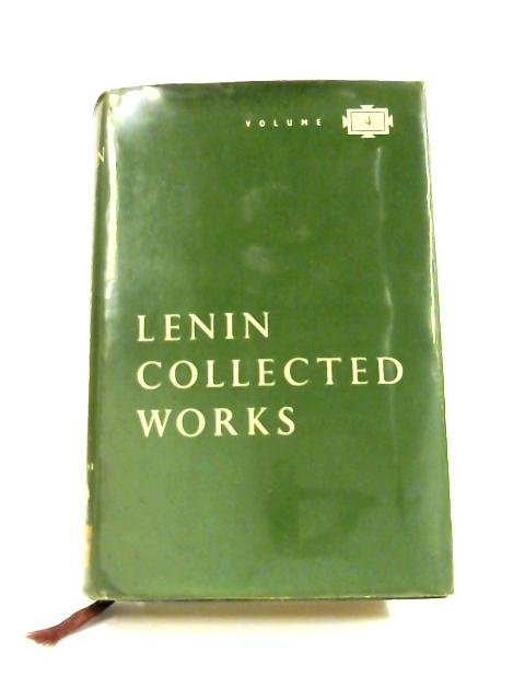 Collected Works Vol. 4 1898 - April 1901 by V. I. Lenin