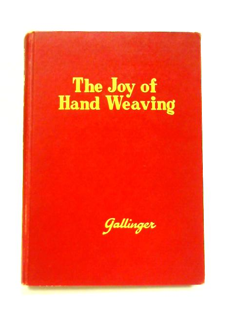 The Joy of Hand Weaving by Osma Couch Gallinger