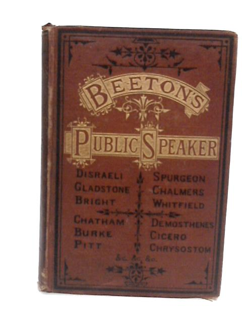 Public Speaker sSpecimens By Unknown