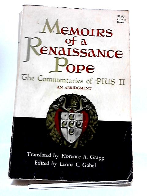Memoirs of a Renaissance Pope by Various