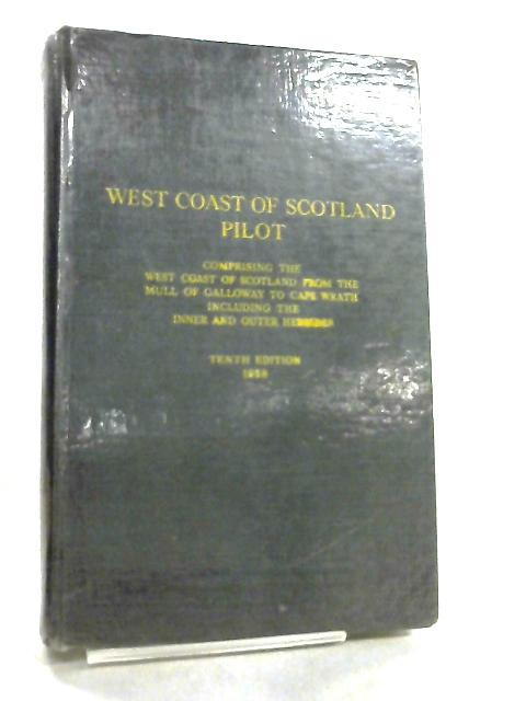 West Coast of Scotland Pilot by Anon