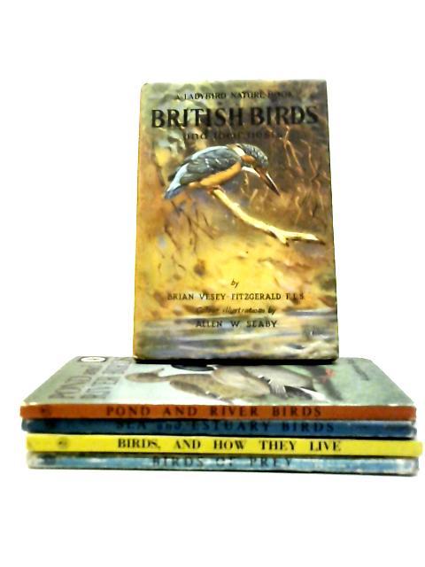 Set of 5 Ladybird Bird Books by Anon