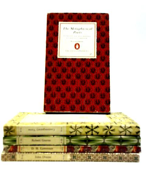 Set of 5 Poetry Books by Various