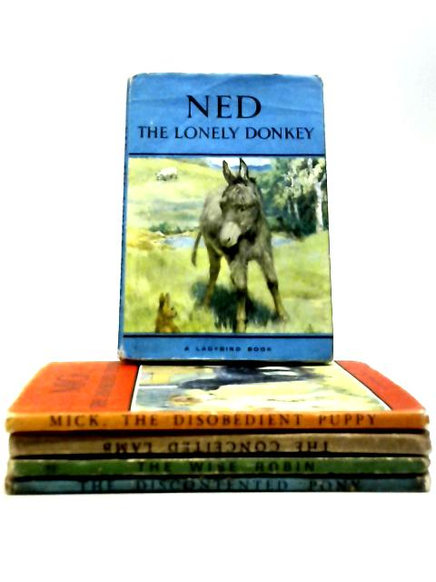 Set of 5 Vintage Ladybird Books by Various