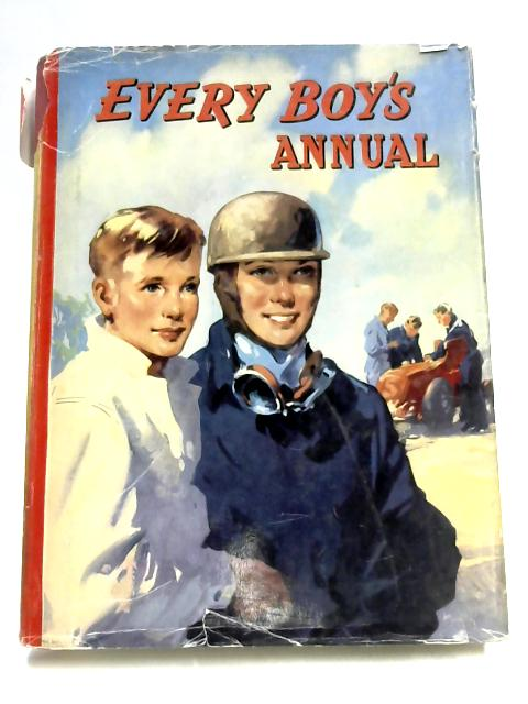 Every Boys Annual by Unknown