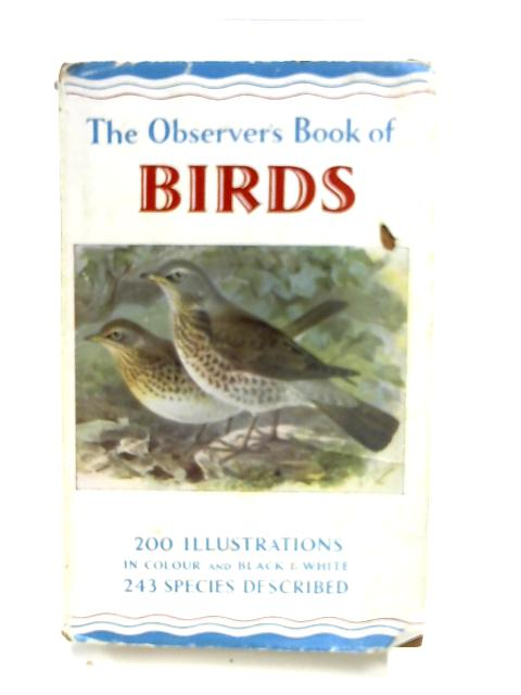 The Observer's Book of Birds by S Vere Benson