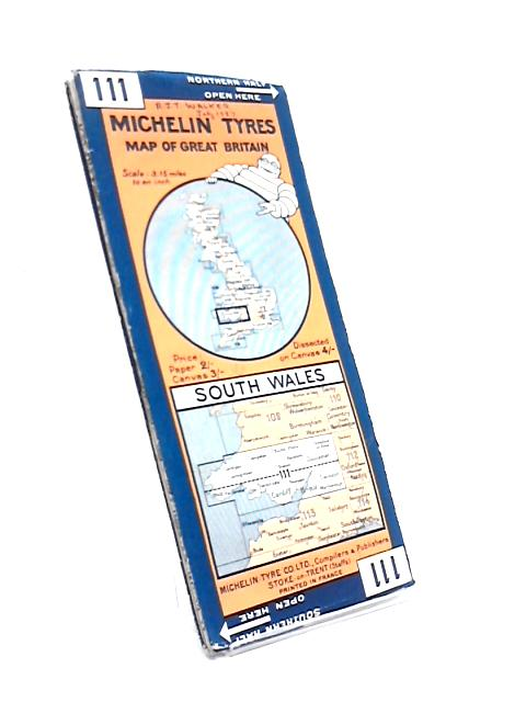 Michelin Tyres Sheet 111 South Wales By Anon