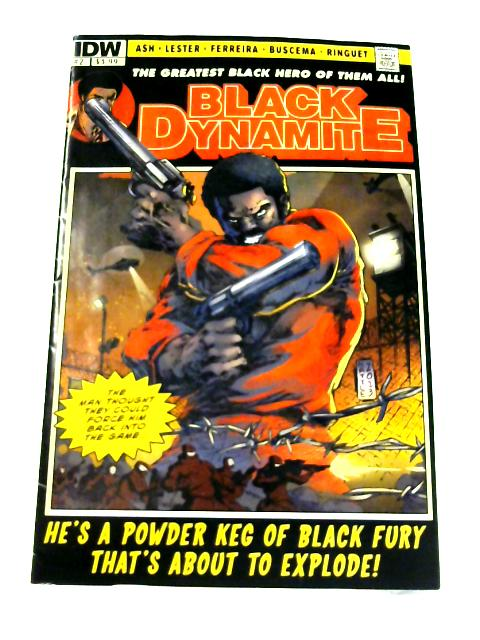 Black Dynamite: No. 2 by Brian Ash