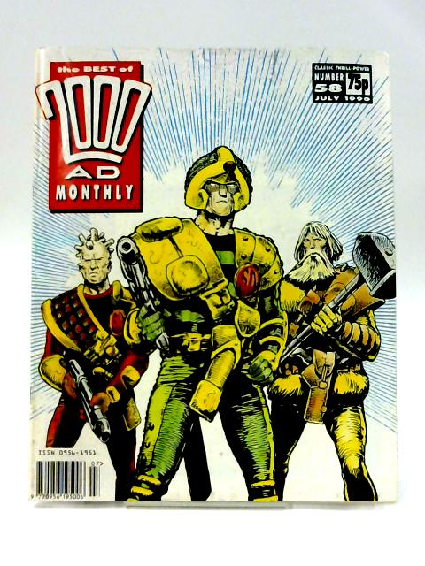 The Best of 2000 AD Monthly #58 By Various