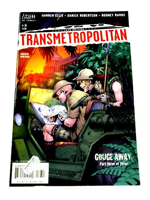 Transmetropolitan #36 By Warren Ellis et al.