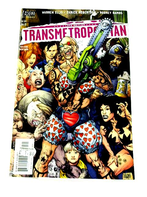 Transmetropolitan: No. 54 by Warren Ellis