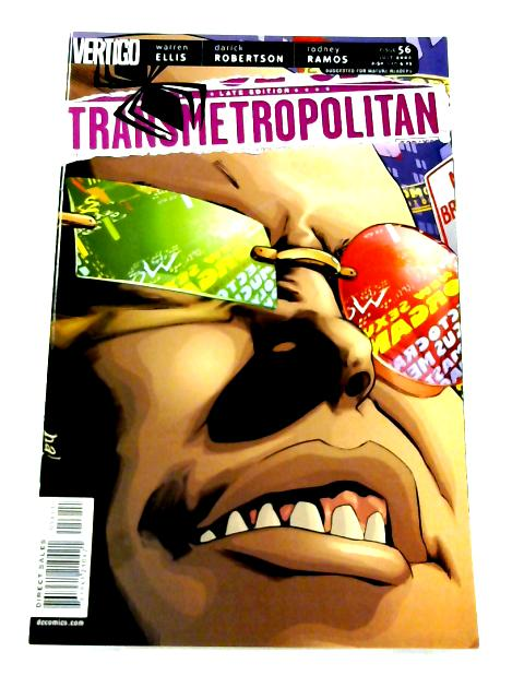 Transmetropolitan #56 By Warren Ellis