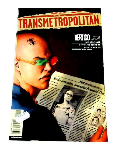 Transmetropolitan #57 By Warren Ellis et al.