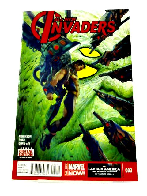 All-New Invaders #3 By James robinson
