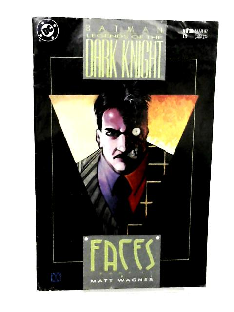 Batman: Legends of the Dark Knight # 28 (March 1992) By Matt Wagner (story & art)