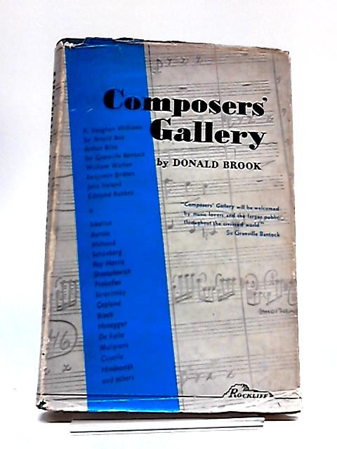 Composers Gallery By Donald Brook