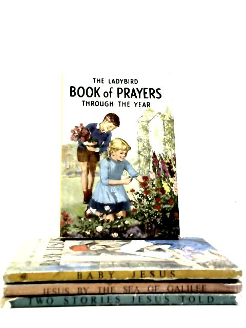 Set of 4 Religious Ladybird Books by Various