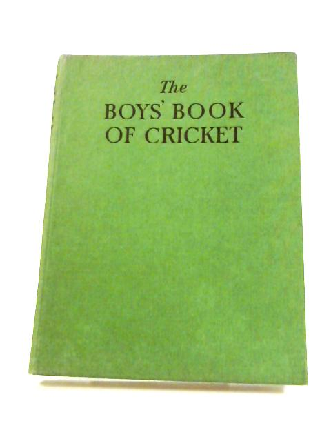 The Boy's Book of Cricket for 1952 by Anon