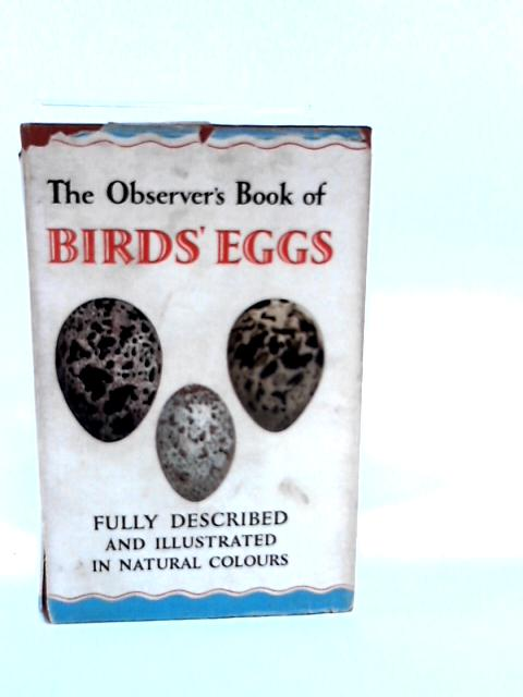 The Observer's Book of Birds' Eggs (Observer's Pocket) by Unknown