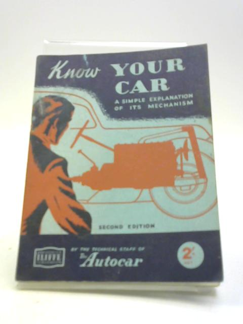Know your car: A simple explanation of its mechanism by the Autocar Technical Staff