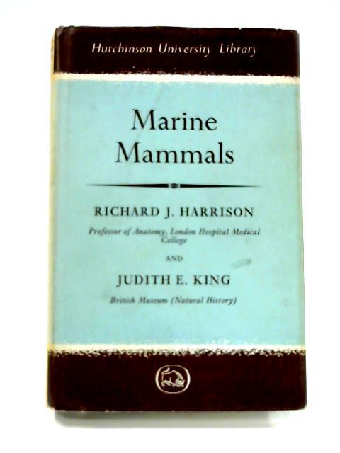 Marine Mammals By R.J. Harrison