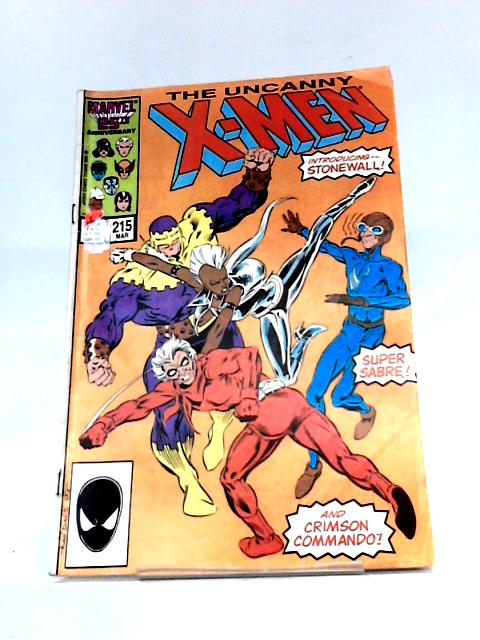 Uncanny X-men Issue 215 (1986 Marvel Comics) By Marvel Comics