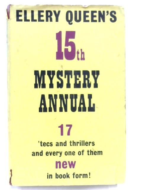 Ellery Queen's 15th Mystery Annual By Ellery Queen