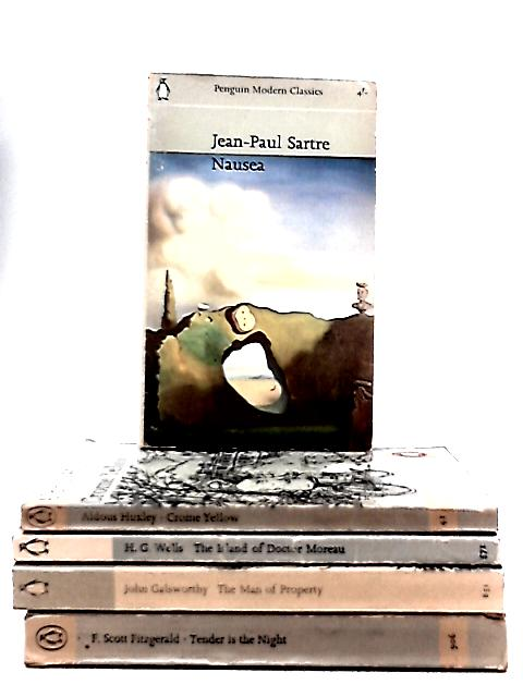 Set of 5 Penguin Modern Classic Novels by Various