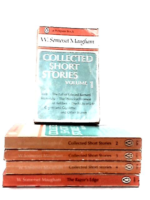 Set of 5 W. Somerset Maugham Novels by W. Somerset Maugham