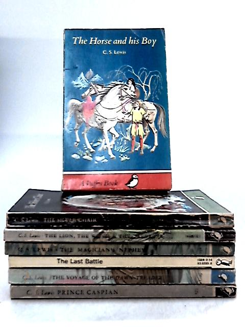 Set of 7 Narnia Novels by C.S. Lewis