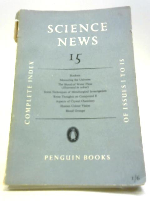 Science News 15 by J L Crammer Edited By