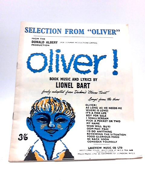Selections from Oliver by Various