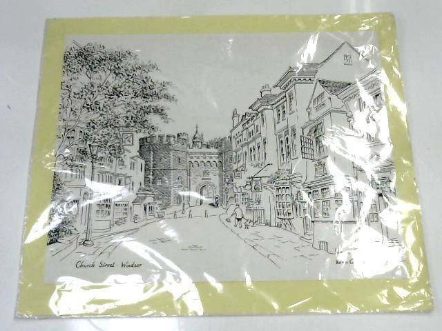 Black and white picture of Church Street in Windsor by Keith Charles