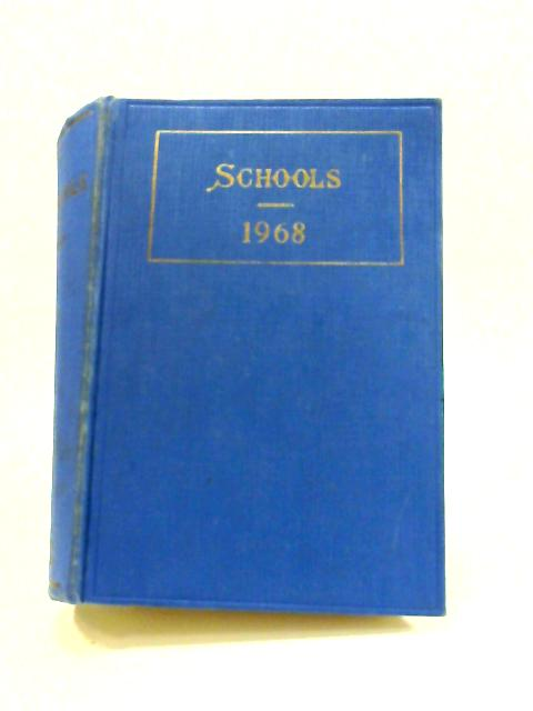 Schools 1968 by Anon