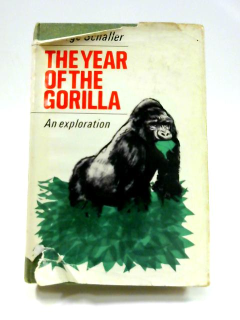 The Year of the Gorilla: An Exploration by George Schaller