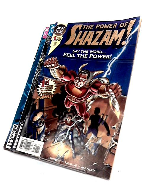 The power of shazam x 4 issuses (#1 - 4) by Ordway, krause, manley