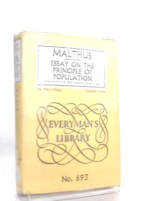 Essay on the Principle of Population Vol. 2 by Malthus