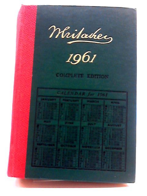 Whitaker's Almanack 1961 by Joseph Whitaker