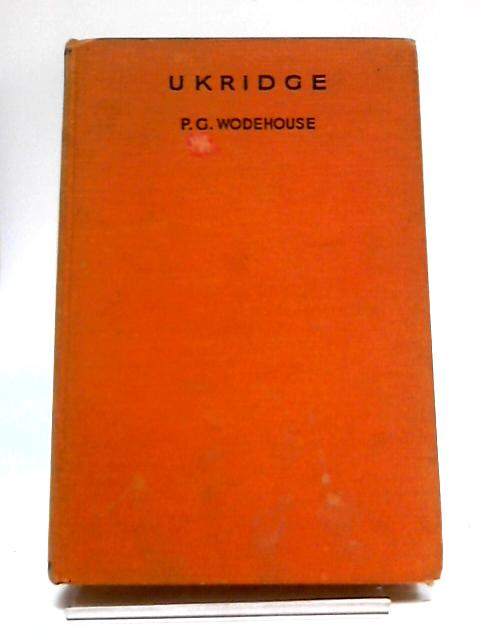 Ukridge by P G Wodehouse