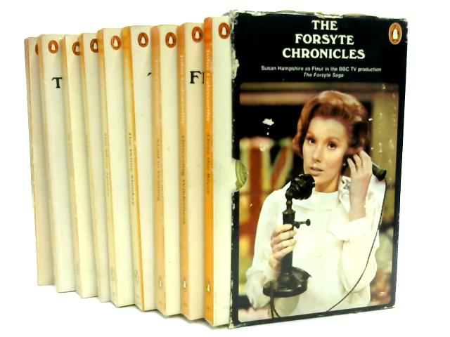 The Forsyte Chronicles Set Of 9 by John Galsworthy