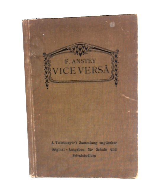 Vice Versa by Anstey, F.