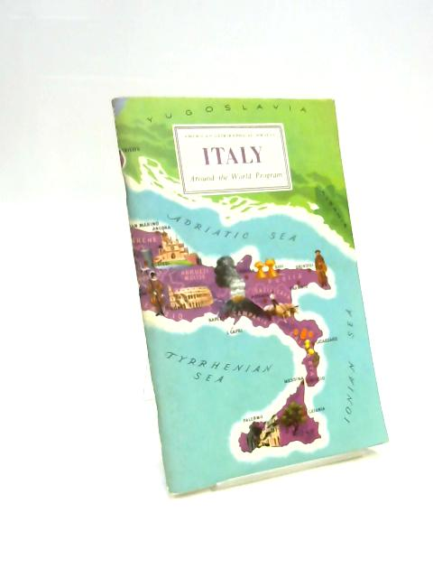 Italy Around the World Program by George Kish