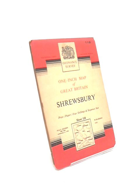 New Popular Edition One-Inch Map Sheet 118 Shrewsbury by Anon