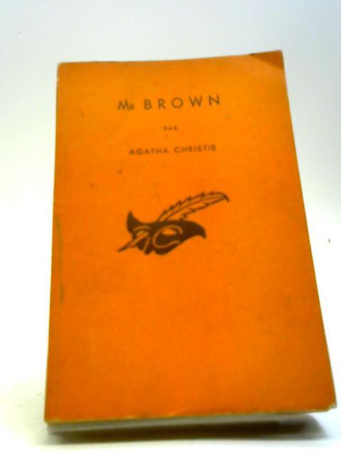 Mr. Brown by Agatha Christie