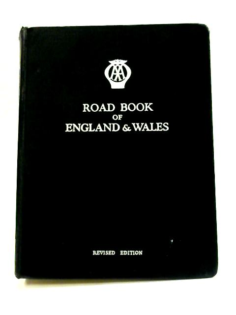 Road Book Of England & Wales by Anon
