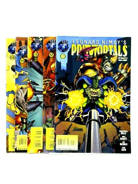 Leonard Nimoy's Primortals: Issues 11 -15 by Mills