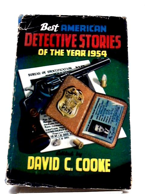 Best American Detective Stories of the Year 1954 by David Cooke