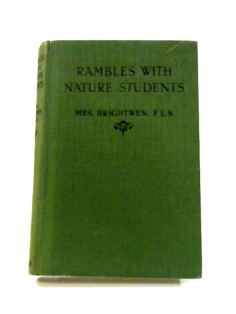 Rambles with Nature Students by Mrs Brightwen